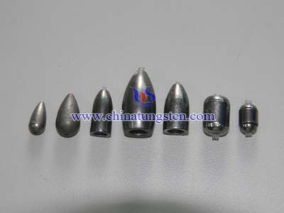 Tungsten Fishing Sinkers Picture